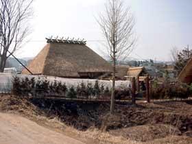 オープンセット(清兵衛の家)2002.2.27撮影